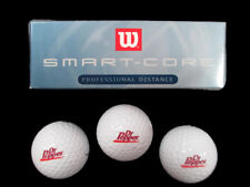 Wilson Smart Core Golf Balls Package of 3 with Dr. Pepper Logo