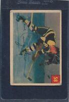 1954/55 Parkhurst #058 Dave Creighton Bruins Poor 54PH58-121815-1
