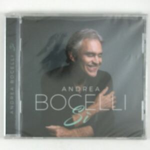 ANDREA BOCELLI  Si CD 2018 CLASSICAL CROSSOVER (SEALE/UNPLAYED)