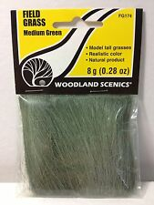 Woodland Scenics FG174 Field Grass Medium Green - NIB