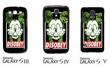 ★★★Coque étui  HOUSSE Samsung Galaxy S3 S4 & S5 -DISOBEY mickey SWAG case ★★★