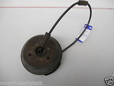 Smart 452 Roadster Brake Drum with Handbrake Cable Rear Right