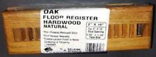 """New 2"""" x 10"""" Oak Floor Vent/ Register / Grill - New!!"""