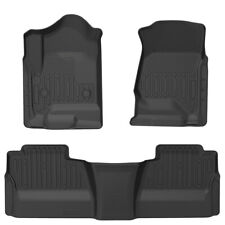 Fit for 2014-2018 Silverado / GMC Sierra 1500 Floor Mats Floor Liners Double Cab