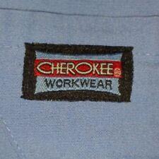 Cherokee & Unbranded Scrub Pants Blue & Light Blue Drawstring And Elastic Waist