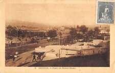 Izmir Turkey Smyrne Bahri Baba Park Antique Postcard K96409