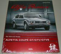 Bildband Alfa Romeo Alfetta Coupe GT GTV GTV6 - Der Keil aus Arese Buch NEU!