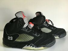Nike Air Jordan 5 Retro Black Metallic 2007 UK8 US9RARE VINTAGE