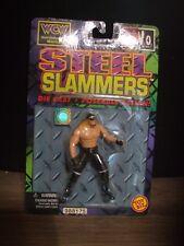 HOLLYWOOD HULK HOGAN STEEL SLAMMERS DIE CAST ACTION FIGURE NEW WCW NWO MIB MOC
