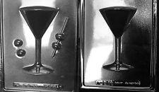 Martini Glass Chocolate Mold - AO128AB -  2 Molds