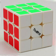 QY The Valk 3x3x3 Speed Magic Cube High-end Twist Puzzle Intelligence Toys White