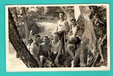 LATVIA LETTLAND SEMI NUDE MEN VINTAGE PHOTO POSTCARD 407