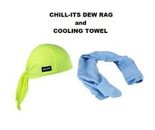 REUSABLE COOLING BANDANA  EVER COOL HUNTER GREEN ONLY ECB3 NEW!