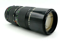 Canon 80-200mm f/4 Manual Focus FD-Mount Zoom Lens