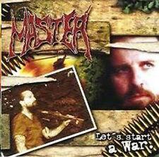 MASTER - Let's Start a War SEALED CD 2001 System Shock death metal slayer