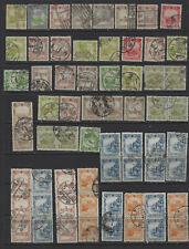 China Manchukuo 1930's-1940's Used Mixed x 64 #13