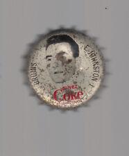 1964 65 HOCKEY COCA-COLA COKE BOTTLE CAP WITH CORK Ed Johnston BOSTON BRUINS