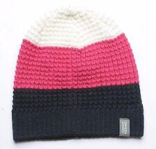 Icebreaker Unisex Oasis Beanie (Admiral   Pop Pink   Snow) 05254e5034a