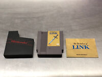 The Adventure of Link With Manual & Sleeve (Nintendo, 1988)