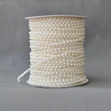 1 X Pearl Beads Chain Imitation Pearl Beads Line Chain Garland Wedding Decor