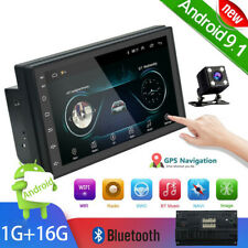 """7"""" inch 2 Din Android 9.1 Car Gps Navi Bt Mp5 Player Touch Screen Stereo Radio"""