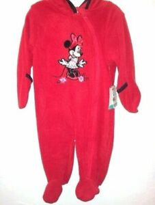 "Disney -Baby & Toddler  Size ""3/6 Months"" Premium 1Pc Red Hoodie Outfit"