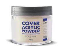 THE EDGE Nail Acrylic Powder Cover Cool Pink 40g Nails Tips Sculpting