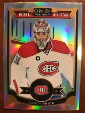 2015-16 UD Opee Chee Platinum NHL All Star Rainbow Carey Price #75