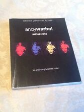 Andy Warhol Prince of Pop Book, 2004 Advance Galley Edition- RARE!
