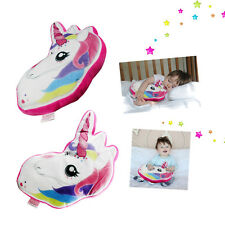 Unicorn Pillow Kids Scatter Cushion Rainbow Childrens Plush My Little Pony Bed