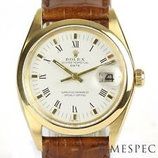 Rolex Oyster Perpetual Date, 18k gold, 34mm, Gents, Automatic, Model 1500