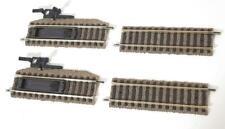 FLEISCHMANN 6114, 6103 HO PROFI GLEIS TRACK - UNCOUPLER & STRAIGHT TRACKS 100mm