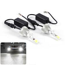 H1 60W 2 unidades 30W Luz 6000LM faro CREE LED Kit De Conversión Lámparas De Haz