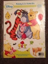 BNIP Baby's Children's Disney Winnie The Pooh Reusable Removable Wall Stickers