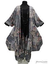 PoCo LAGENLOOK Long Shirt Tunika Chasuble Jacke XL-XXL-XXXL 46 48 50 52 54 56 58