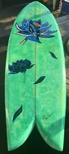 Authentic 1 of 1 Guy Takayama Black Lotus Inspired Surf Board - (Art Board)