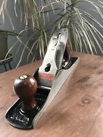 Vintage Stanley Bailey No 5 Jack Plane Corrugated Rare Early No Patent No. NICE!