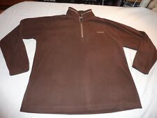 CRAGHOPPERS SIZE 18/46 BROWN POLYESTER FLEECE
