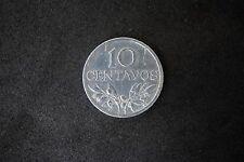 10 Centavos - 1974 - Portugal - Aluminum - Vertical Alignment - Scarce