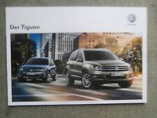 VW Tiguan (typ 5N) prospekt 2/2012 Prospekt +R-Line Sport&Style,Track&Field