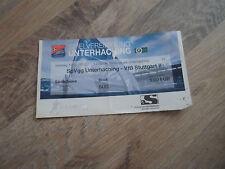 Altes Ticket SpVgg Unterhaching - VfB Stuttgart 2 Saison 2011/2012