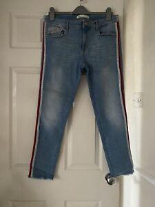 Ladies Zara Cropped Jeans Size14