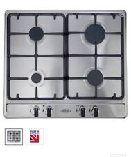 NEW BELLING GHU60TGC LPG CONVERTED Hob Stainless Steel 60cm Cast Iron 4 Burners