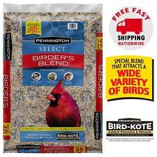 Wild Bird Food Seed Mix Birder's Blend Bulk 40lb Bag Feed Pennington Select NEW