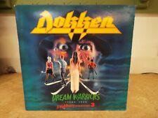 Dokken Dream Warriors 1987 Rock LP VINYL ALBUM