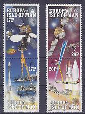 I O M 1991 Europa - In Space Set UM SG474-7 Cat £3.00