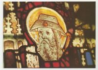 Beric Tempest Postcard, St John the Baptist Church, Burford, Oxfordshire, Glass