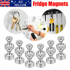 12 PCS Mini Strong Fridge Magnets Neodymium Magnetic Crafts Whiteboard Push Pins