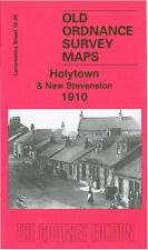 OLD ORDNANCE SURVEY MAP HOLYTOWN & NEW STEVENSTON 1910