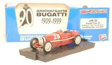 S99/32 BRUMM 1:43 - 1934 Bugatti type 59 #28 Nuvolari - PROMO 90° ann. Ltd.Ed.